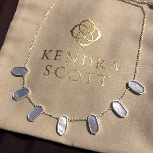 Kendra Scott Meadow Bright silver collar necklace